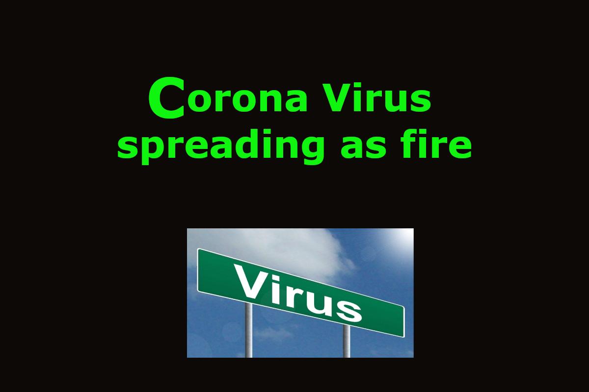 Health Guide, Physiology topics, corona virus, Corona Virus is spreading like fire